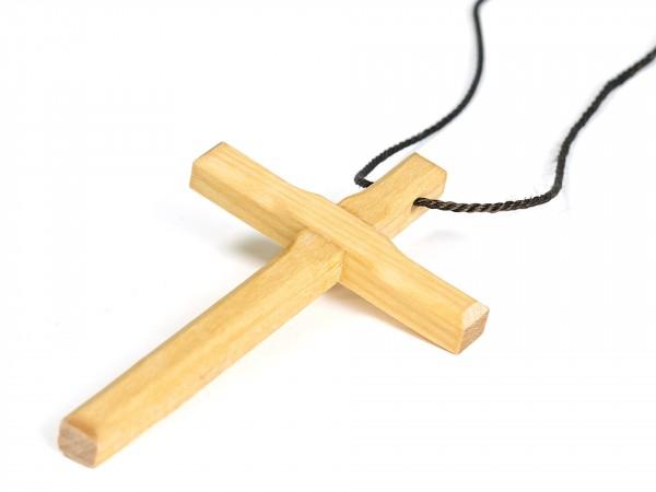 Halskette Kreuz groß