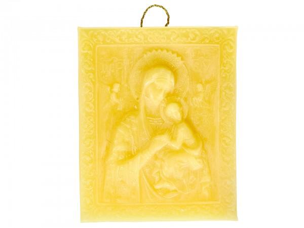 Bienenwachsfigur Ikone Maria
